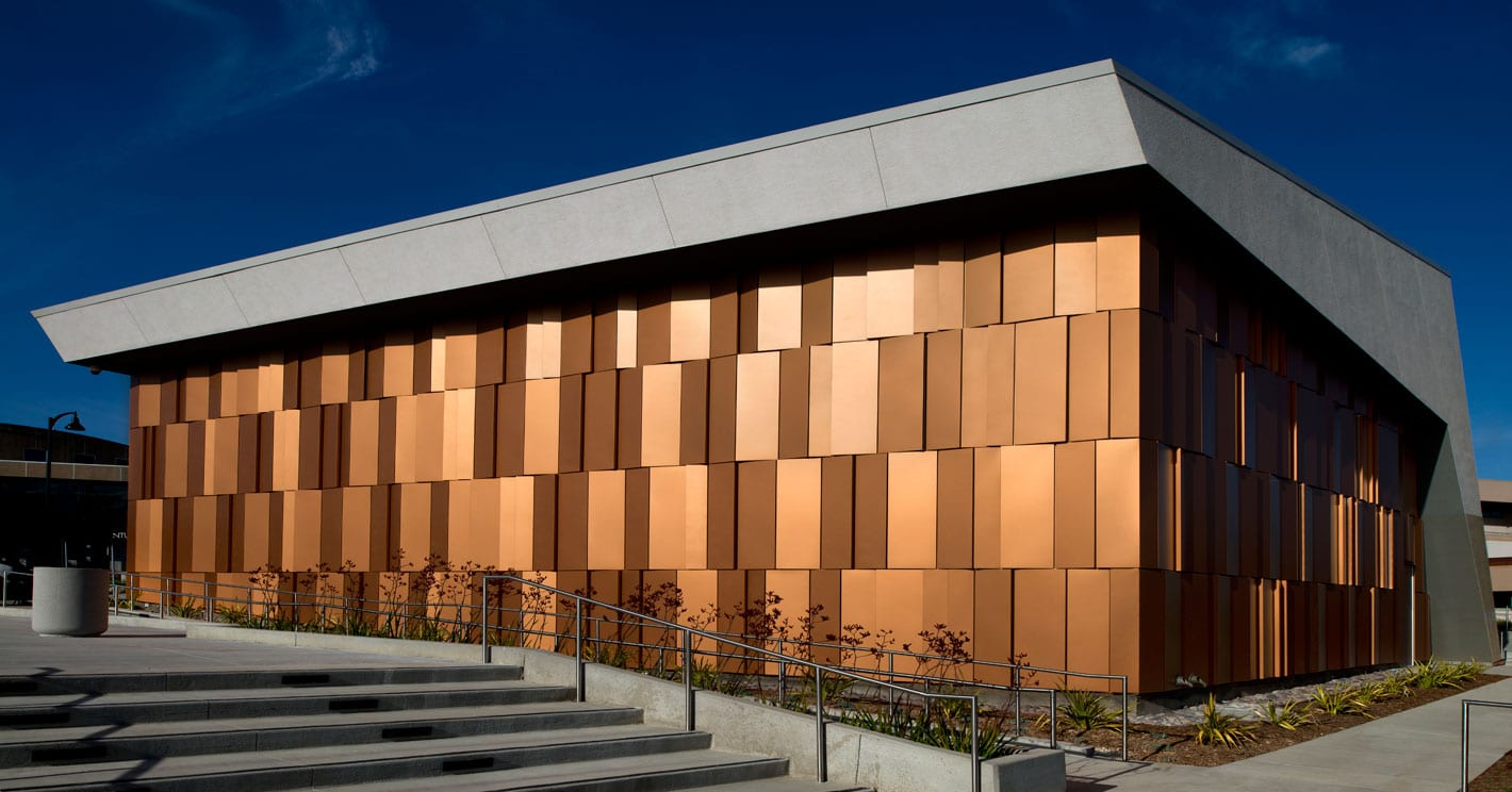 Designed Examples Of Aluminum Composite Panel Curtain Wall