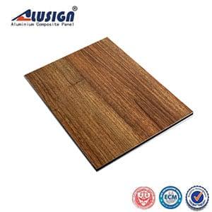 Alusign Wooden Aluminum Composite Panel