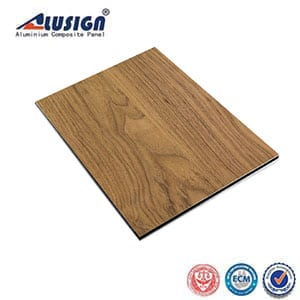 Alusign Wooden Aluminum Composite Panel