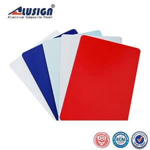 Alusign PVDF material aluminum composite panel acm