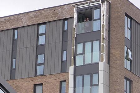 Aluminum Composite PanelsStripping