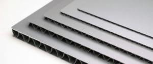 aluminum corrugated core panel